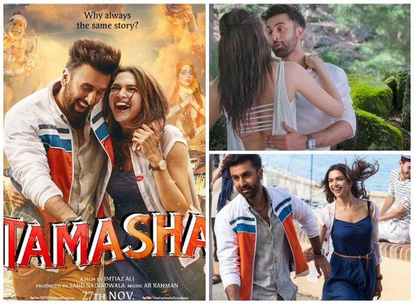 #Tamasha Film - Enjoy #DeepikaPadukone and #RanbirKapoor real romance.