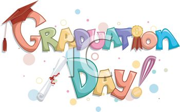 Graduation Clipart - Graduation Day
