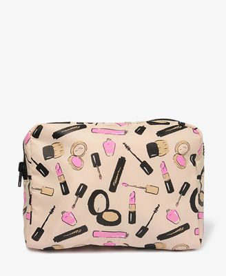 Lipstick Print Cosmetic Bag | FOREVER21 - 1031661604