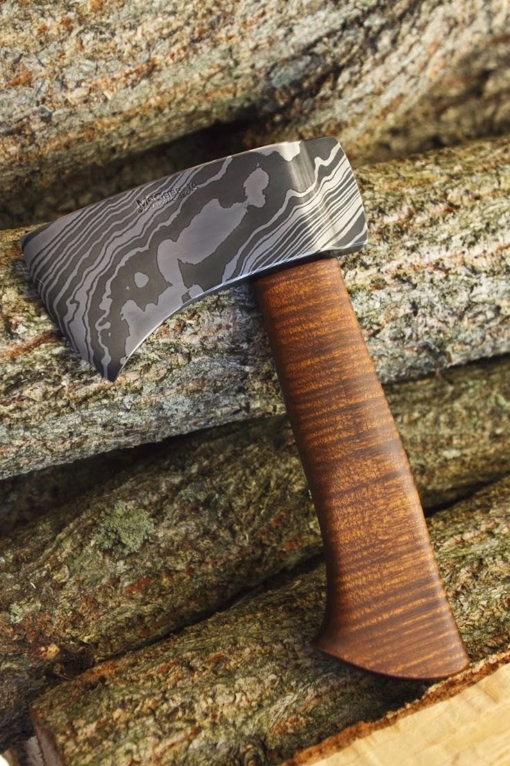 Scott just finished his first Trekker Mini Hatchet. We've been hiking and camping quite a bit of late, and this is a hatchet perfectly siz.