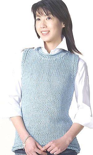 simple vest | knit women's vests | Pinterest | Vests ...