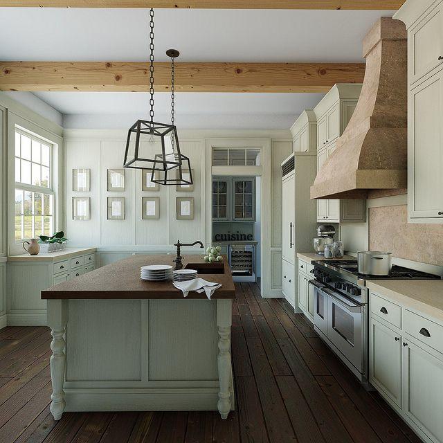 : Kitchens Photo, Wood Ideas, Dreams Kitchens, Kitchens Inspiration, Kitchenbath Ideas, Dark Wood Floors, Country Kitchens, French Kitchens, French Style