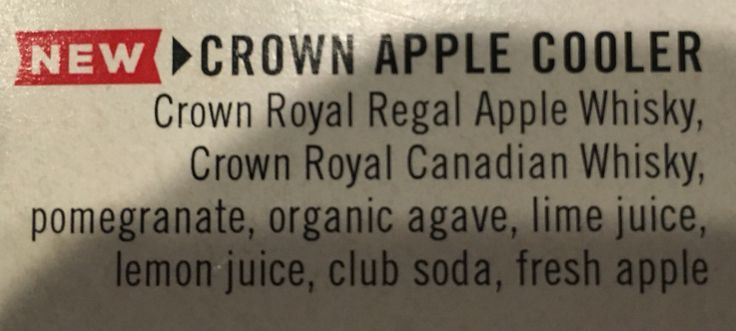 Apple Crown Cooler....soooo good!!
