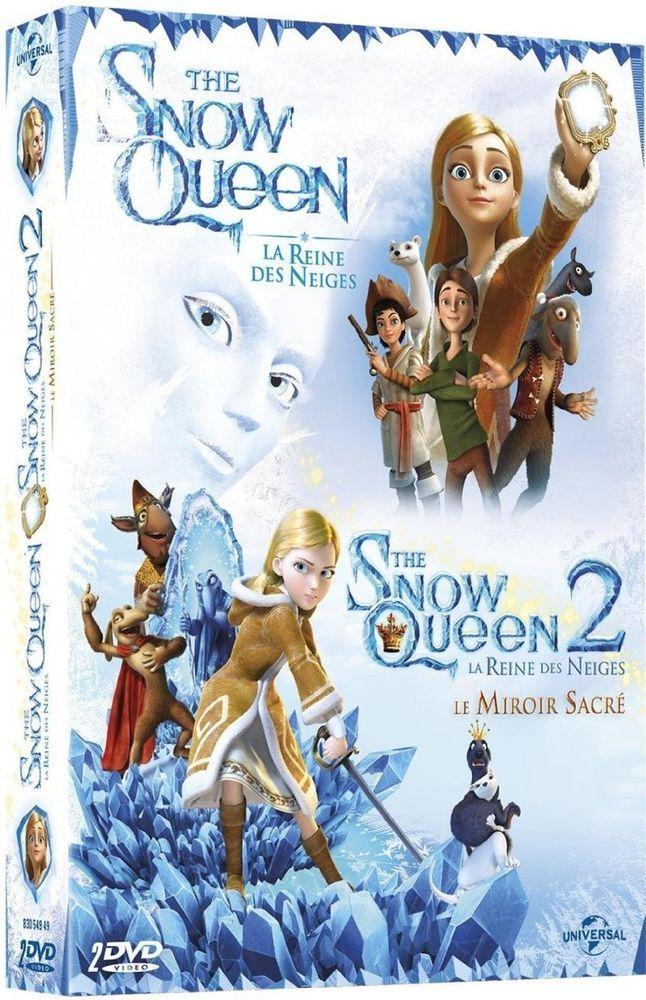 The Snow Queen, La Reine des Neiges + The Snow Queen 2, La Reine des  - DVD NEUF