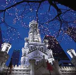 Magnificent Mile Lights Festival   Water Tower