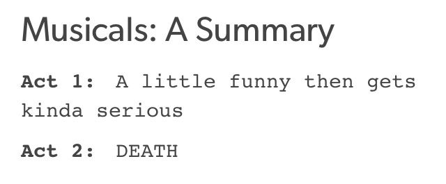 *cough* Wicked Hamilton Finding Neverland Into the Woods *cough*