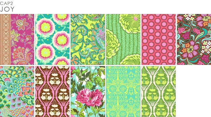 Amy Butler for Rowan Fabrics http://www.amybutlerdesign.com/products/fabrics_soulblos_quilt_top.php