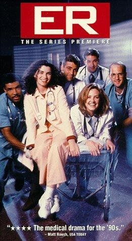 ER ... the show that  kickstarted the careers of George Clooney and Julianna Margulies.