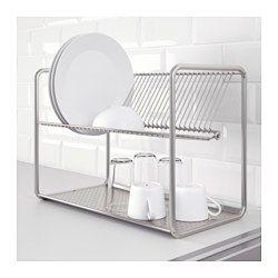 ORDNING Abtropfgestell, Edelstahl - IKEA