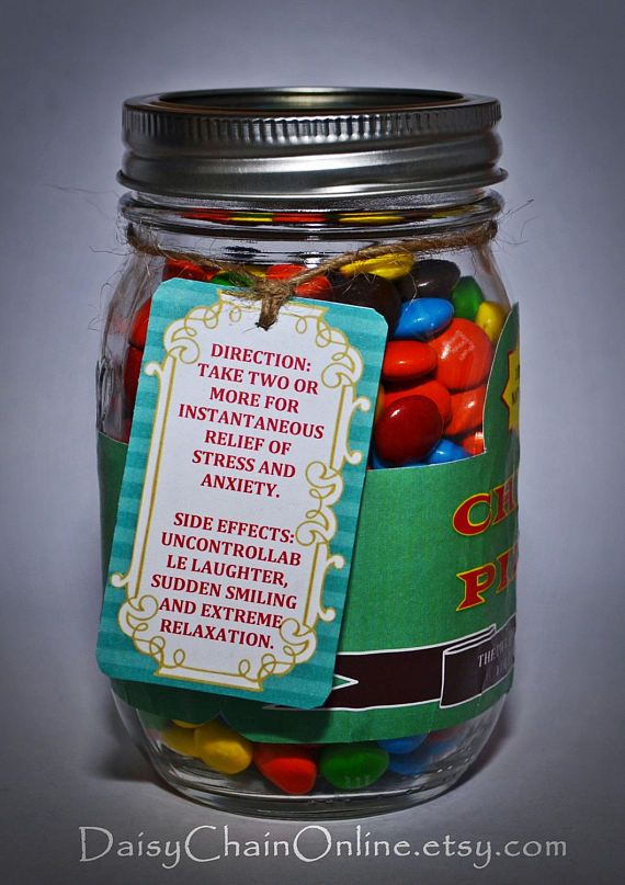 Chill Pill The Best Gag Gift Funny Gift for Boyfriend