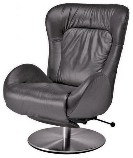 Amy Recliner Chair by Lafer Recliners is an Ergonomic Swivel Recliner Chair. Modern Leather Swivel Recliner Amy GL Chairs by Lafer feature independent backrest, headrest and footrest controls.  Lafer Recliners specializes in swivel recliner chairs.
