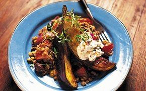 Vegetariska recept med ärtor, bönor och linser - Recept - Arla