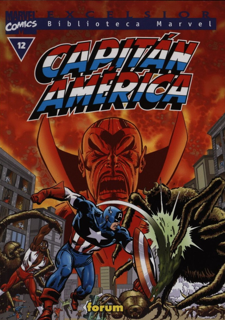 Biblioteca Marvel Capitán América  nº 12: Comic Captain America, Comics Captain America, Marvel Comic, Comic Books, Comic Covers