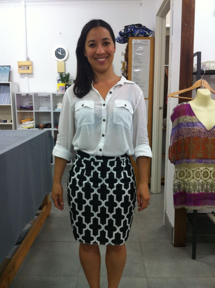 Basic Straight skirt-The beginners sewing course