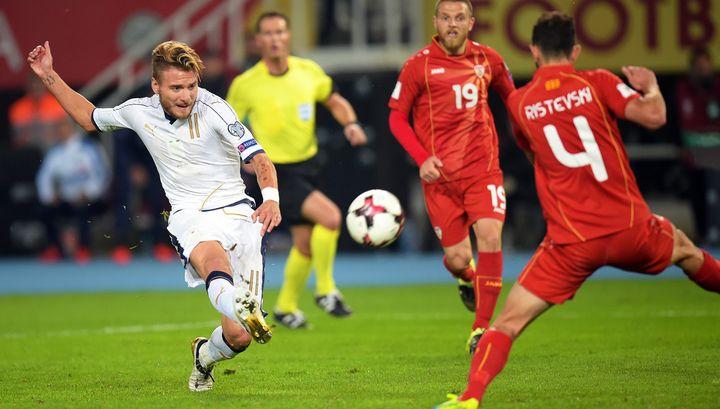 Футболисты Италии победили Македонию в добавленное время | 24инфо.рф
