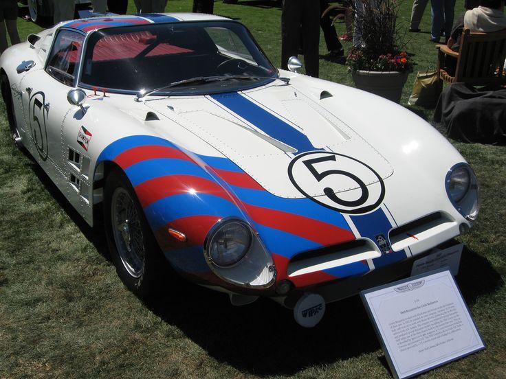 1964 Bizzarrini Iso Grifo Berlinetta 5300 Corsa (Grifo AC3 body and Corvette 327 cu in (5,360 cc) engine).