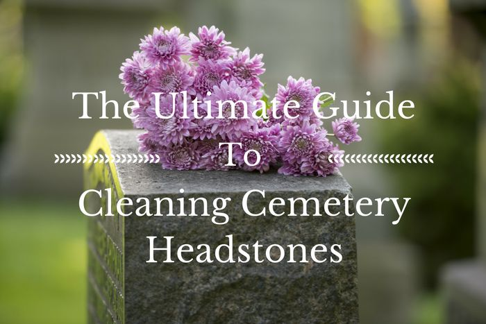 Use our ultimate guide on how to clean a headstone. Covers everything from maintaining to restoring granite headstones, marble tombstones, and bronze grave markers. #loveliveson