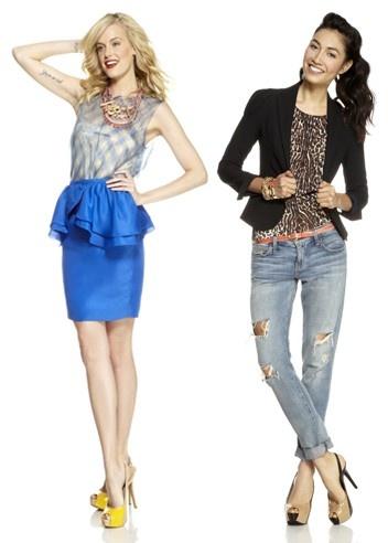 Schootjes en strakke jeans