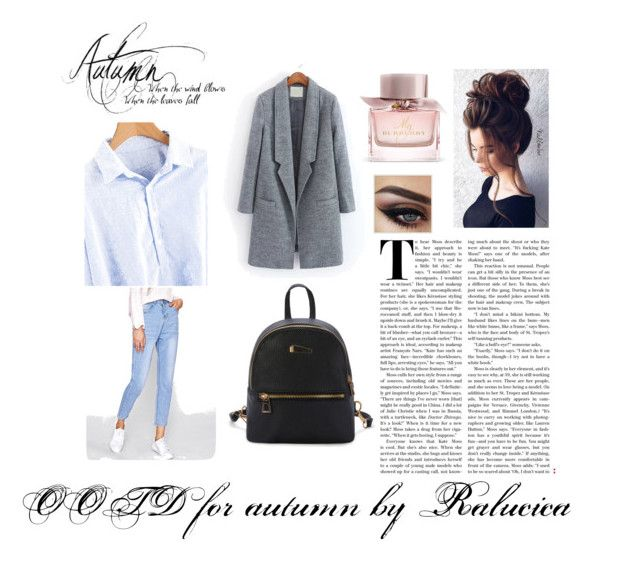 OOTD for Autumn by Ralucica by ralucica-andreea on Polyvore featuring Burberry
