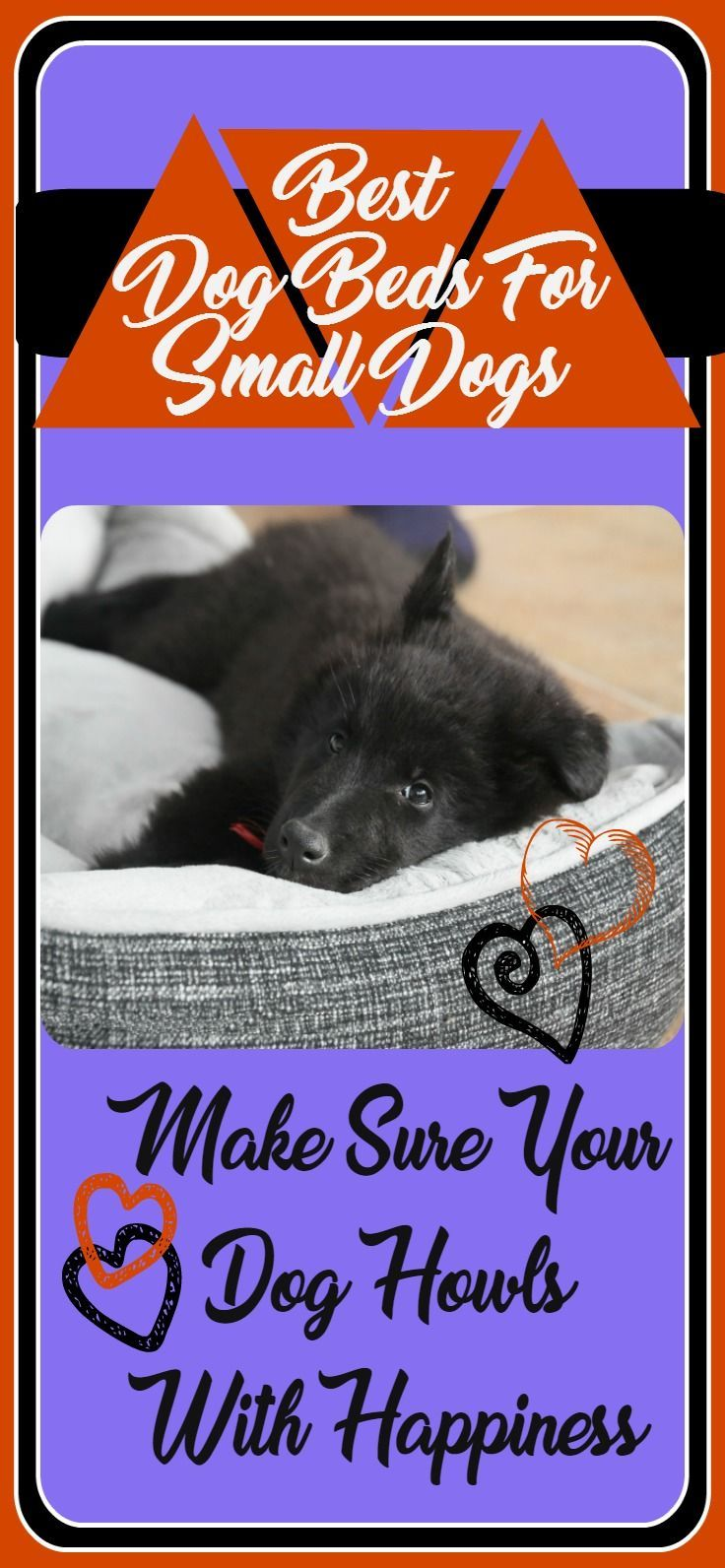 Best dog beds for small dogs are the ones that make you and your best friend happy. Small dogs fill a whole heart with love, they deserve comfort, warmth and protection. And when they begin to age they may have some issues that a good bed will help with. Choose from several great beds for your small dog.