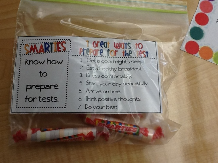 The third graders were given these goodie bags to help ...