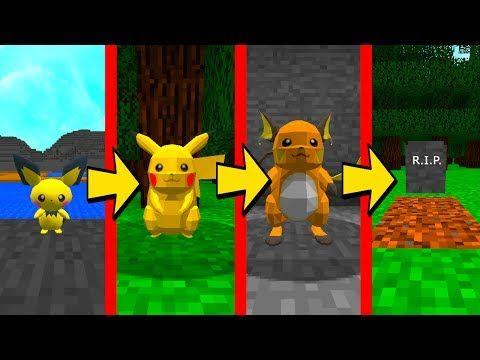 PIKACHU VS LA VIDA EN MINECRAFT  ⚡  LOS POKÉMON TAMBIÉN MUEREN 💀 PIXELMON - VER VÍDEO -> http://quehubocolombia.com/pikachu-vs-la-vida-en-minecraft-%e2%9a%a1-los-pokemon-tambien-mueren-%f0%9f%92%80-pixelmon    El pokémon pikachu se vuelve viejo en minecraft, envejece con el tiempo, Nace como bebé pichu y va creciendo hasta envejecer como raichu y morir! El ciclo de vida en Minecraft! Si os ha gustado este vídeo recomendarme a vuestros amigos, pero sobre todo a vu