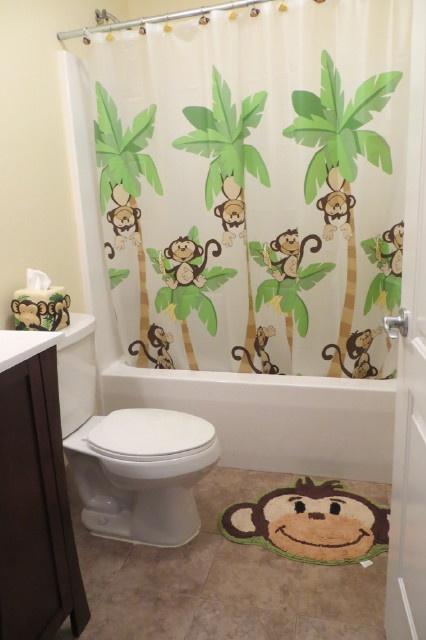 Kids Monkey Bathroom