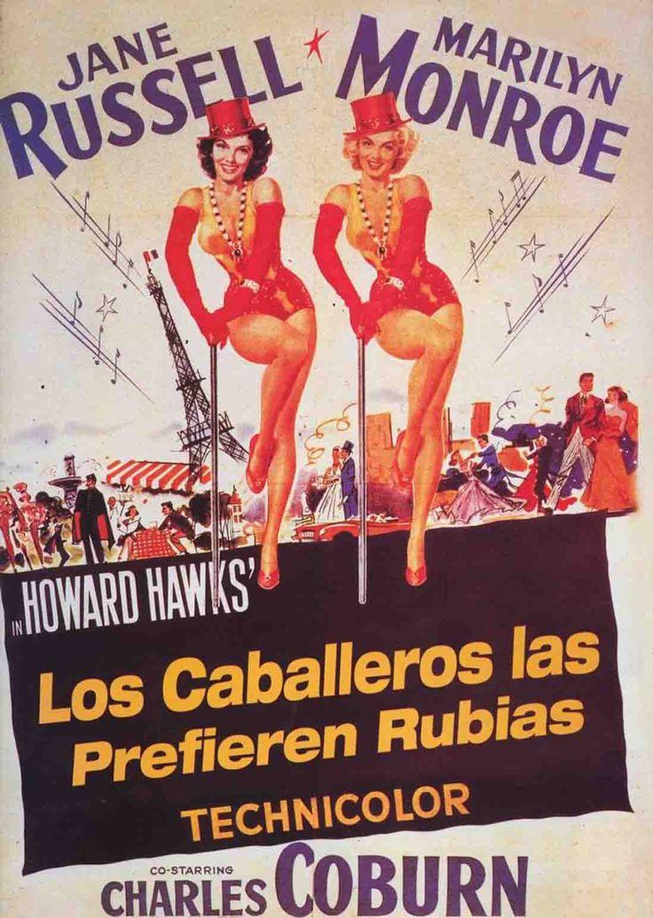 Los caballeros las prefieren rubias no es la mejor película de Howard Hawks, pero no deja de ser una de las obras claves del cine.