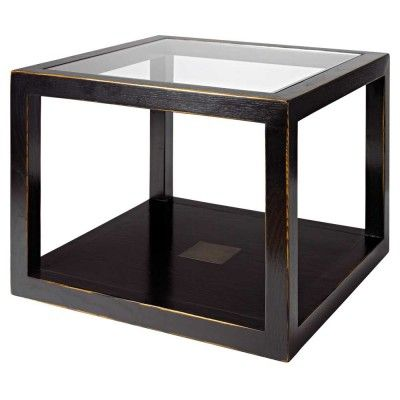 How about this wonderful Chinese Black Lacquer Cube Table for your living room? #4livinguk