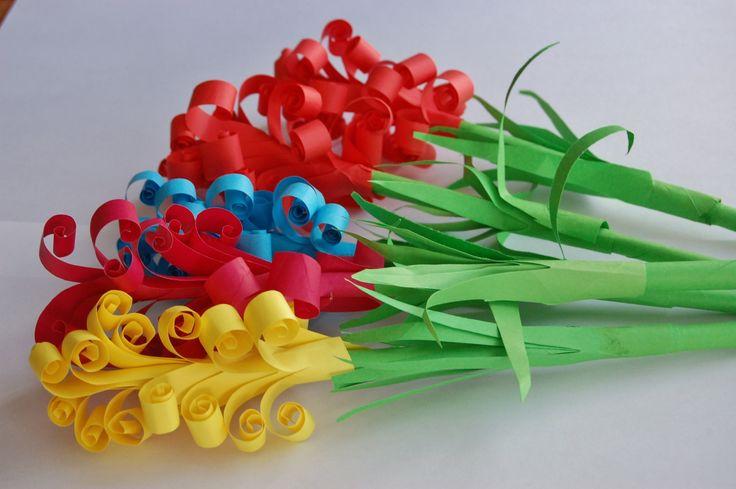 Jak vytvořit květiny z papíru