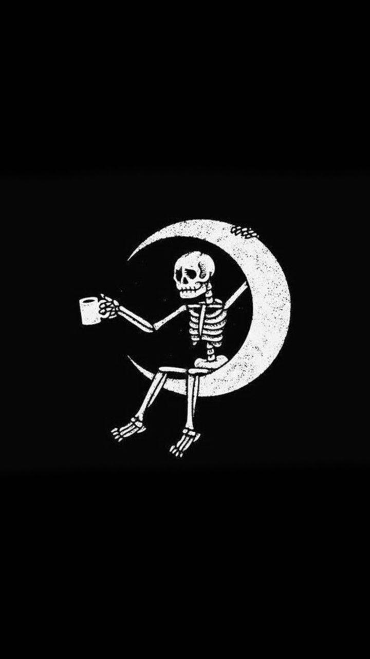 Halloween Wallpaper Halloween 2019 Noches Fras Skull Wallpaper Halloween Wallpaper Black Aesthetic Wallpaper