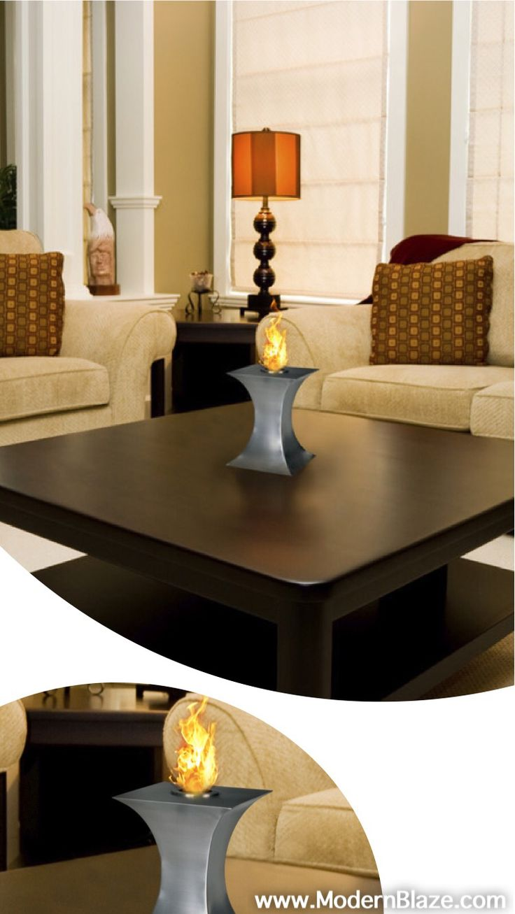 best tabletop modern ethanol fireplaces images on pinterest  - pureflame concave fire  table top ethanol fireplace (con)