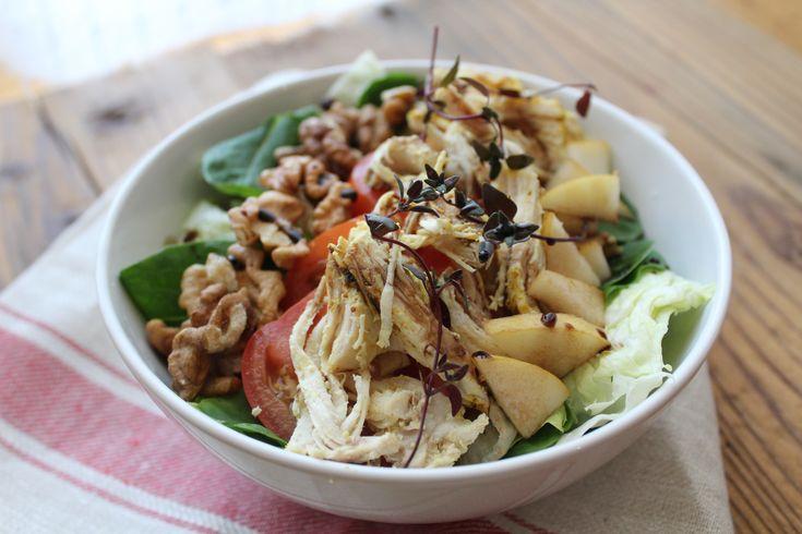 Pulled Chicken Salad   leckere Resteverwertung {low carb, glutenfrei}