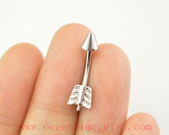 belly ringarrow Belly Button Ringslittle arrow belly by OceanTime, $5.59