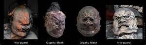 Japanse Gigaku maskers vergelijk met Nio bewakers invloed uit Korea