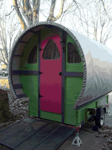 Emma Rose Gypsy Wagons Colorful Mobile Homes Of The Past And