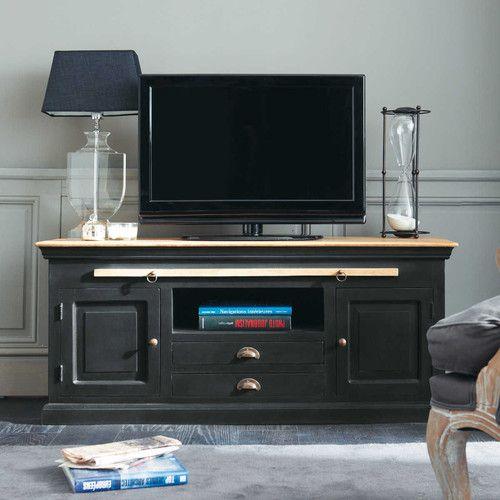 meubles tv meubles tv meuble tv maison du monde. Black Bedroom Furniture Sets. Home Design Ideas