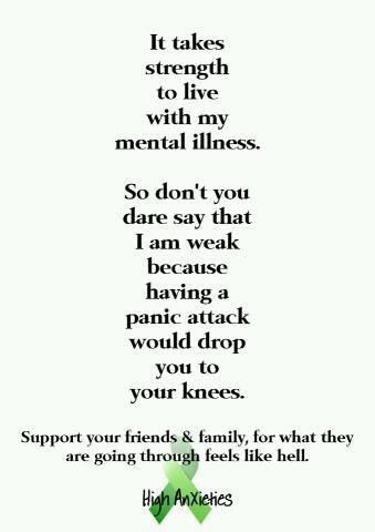 Panic attacks have never dropped me to my knees, but they have come damn close... Too damned close for comfort...                                                                                                                                                                                 More