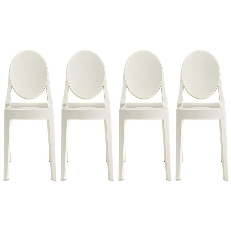 25+ beste ideeën over Plastic dining chairs op Pinterest - Witte ...