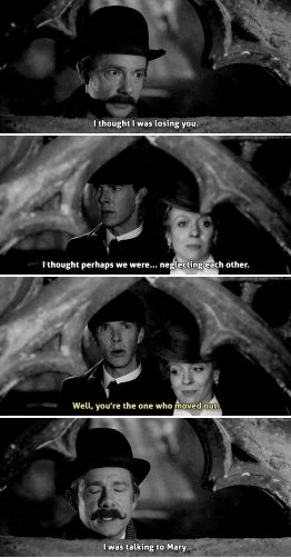 "Sherlock ""The Abominable Bride"" Christmas Special - Sherlock, John and Mary #funny"
