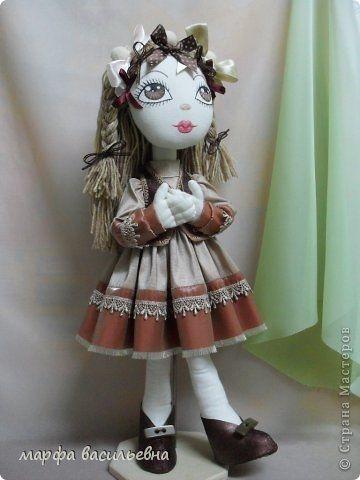 Выкройки платья и башмачков для текстильной куклы