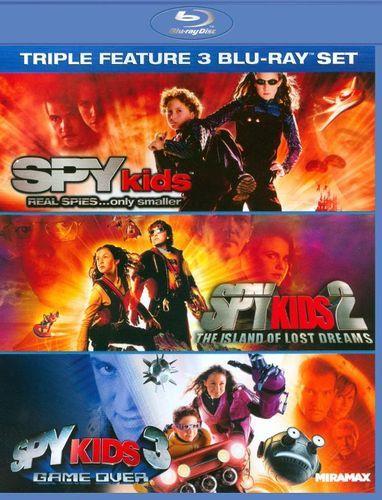 Spy Kids/Spy Kids 2: The Island of Lost Dreams/Spy Kids 3: Game Over [3 Discs] [Blu-ray]