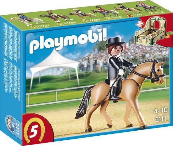 Playmobil Dressuurpaard met Paardenbox - 5111