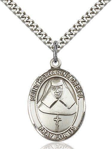 St. Katharine Drexel Pendant (Sterling Silver) by Bliss | Catholic Shopping .com