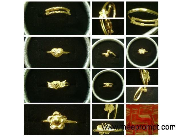 #goldrings #1gram #bangkok #thailand free ems local. #แหวนทองคำแท้ #แหวนทอง1กรัม#ส่งฟรี #1690 www.555costumebkk.com