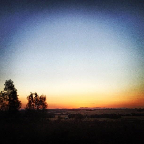 Hunter Valley #sunset