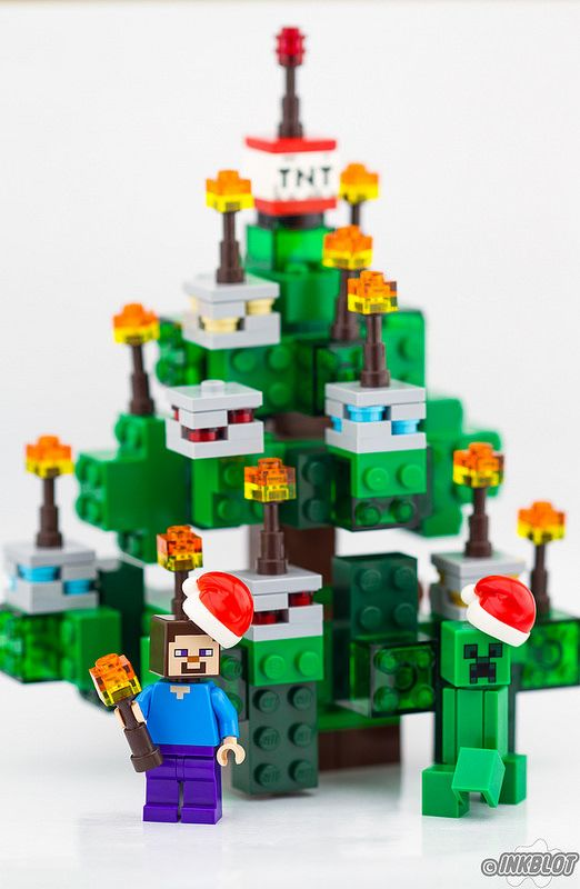 LEGO Minecraft Christmas