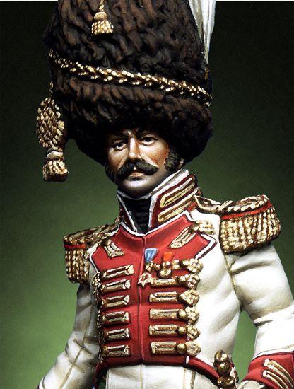 """Colonel of 2nd rgt. """"Veliti della Guardia"""" Naples Kingdom 1814-1"""