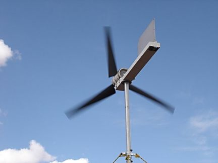 How I home-built an electricity producing Wind turbine
