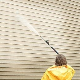 12 Ways to Clean Vinyl Siding (including how to protect landscaping)